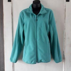 Wind River Sea Foam Green Fleece Thick Warm Zipper
